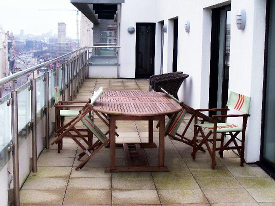 L3 Living - The Merchant Quarters, Liverpool: Balcony