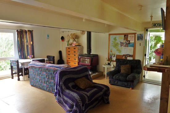 Great Barrier Island, นิวซีแลนด์: Comfortable lounge area