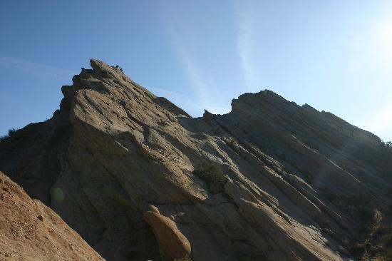 Agua Dulce, CA: you can see some people at the very top showing you how tall the rocks were