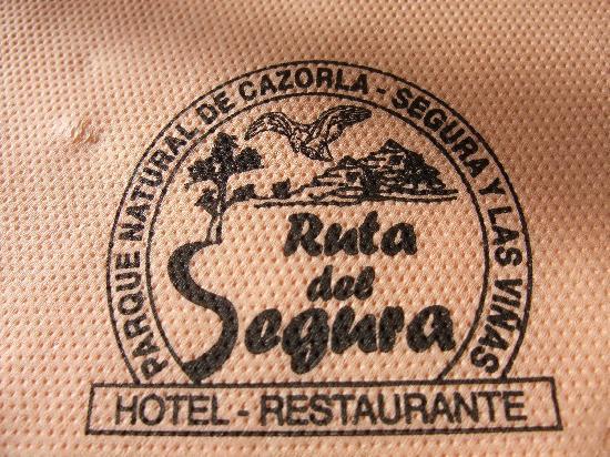 Restaurante Ruta del Segura: servilleta