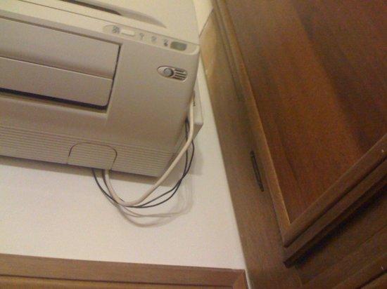 Hotel Sole:                                     fili a vista del conzionatore
