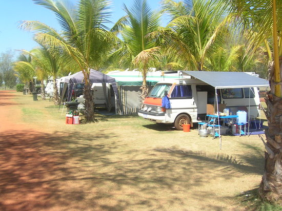 Western Australia, Australia: Sites at Eighty Mile Beach Camp