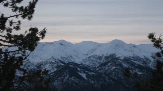 Sant Julia de Loria Parish, أندورا: De Naturlandia Camp Neu, La Rabasa, San Julia de Loria 25 12 09