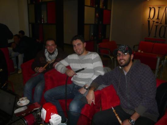 Irbid, Jordan: via via bar in Irbit