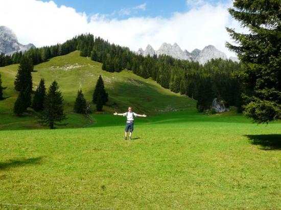 Filzmoos, ออสเตรีย: The Hills are alive .....