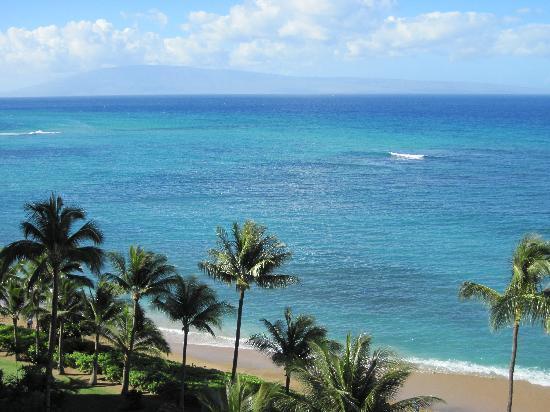 Valley Isle Resort: View from Lanai - 1001