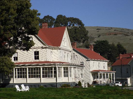 Cavallo Point: Another of the historic Officers Quarters