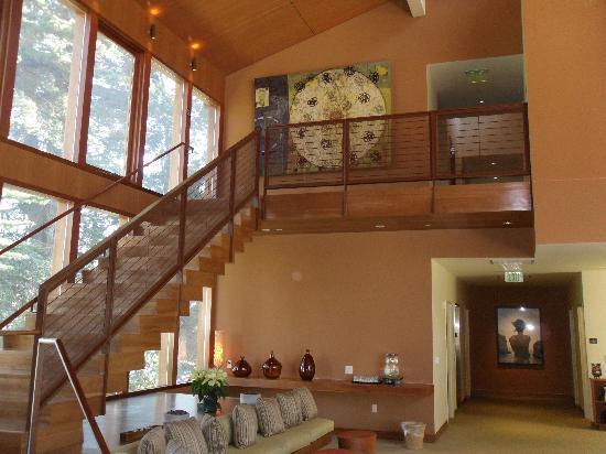 Cavallo Point: Interior of the Healing Arts Center & Spa