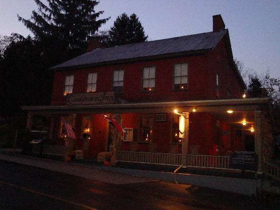 Cashtown Inn: Cashtown in the evening