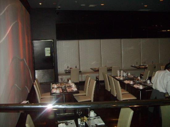 Le Meridien Panama: Tables at Lattitud Lounge