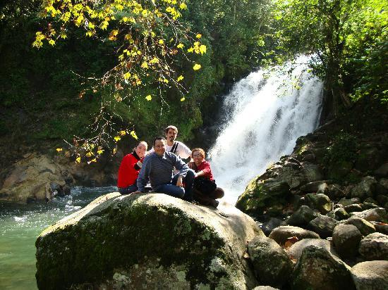 Xico, Mexico: Cacada de La Monja.