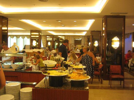 Evenia Olympic Suites Hotel: Restaurant