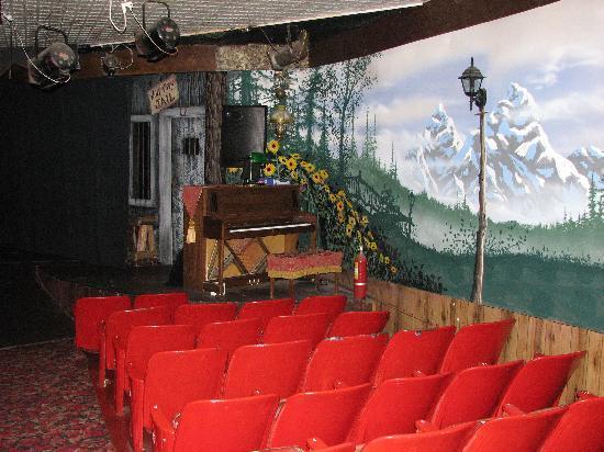 Jackson Hole Playhouse : The stage