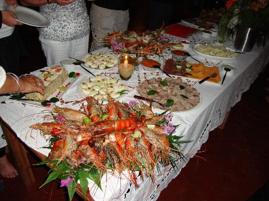 Sakatia Lodge: New Year's Buffet