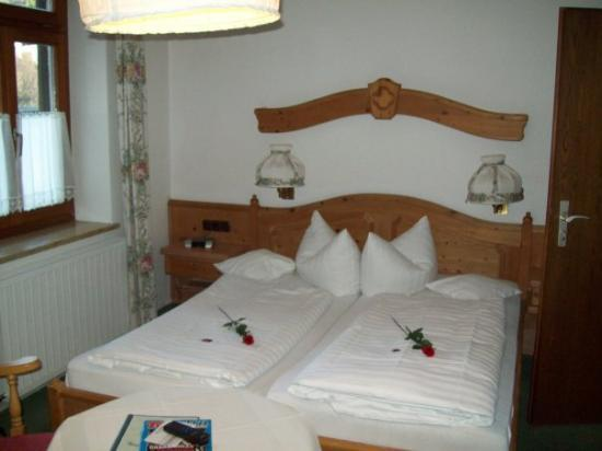Our room at the Hotel Bavaria