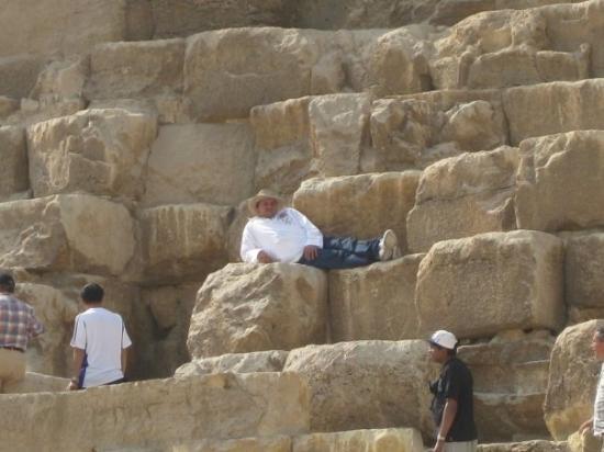 クフ王の大ピラミッド, ギザの ...