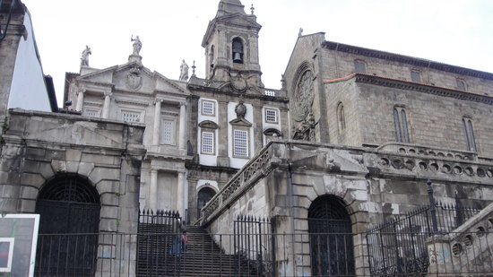 Porto, Portugal: front of church