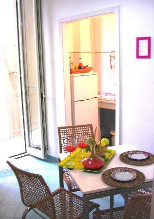 Apartment Inkiostro : soggiorno/cucina- living/kitchen rrom