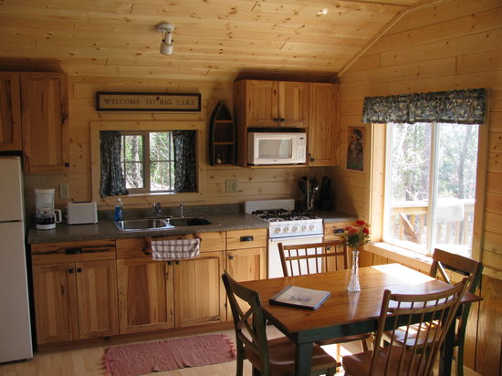 Big Lake Wilderness Lodge: TIMBER RIDGE CABIN