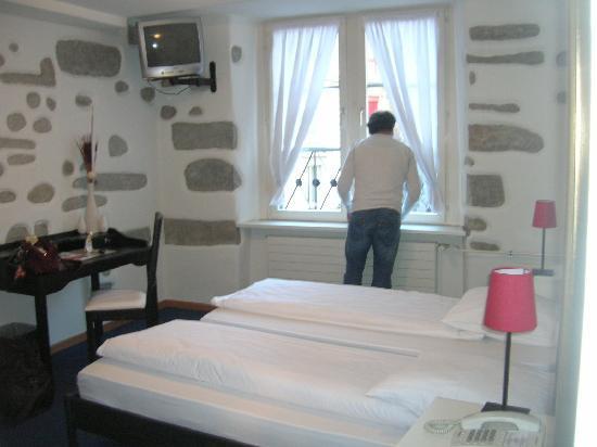 Hotel Hirschen: la nostra camera