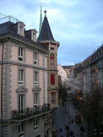 Hotel Hirschen: la vista