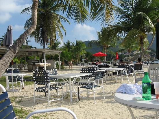 St. Croix Water Sports Center : Hotel on the Cay beach front.
