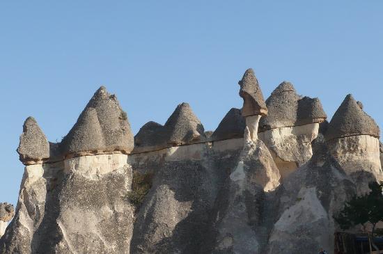 Derinkuyu Underground City : Valle chimenea de las Hadas Capadoccia