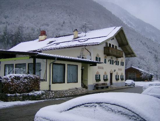 Hotel Gablerhof: Der Gablerhof im Schnee, Januar 2010