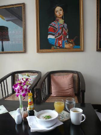 Hotel Khamvongsa: アジアスタイル朝食