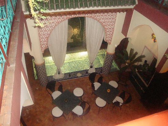Riad Assalam : Le patio