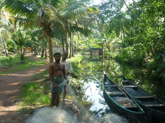 Coir Village Lake Resort: the actual village