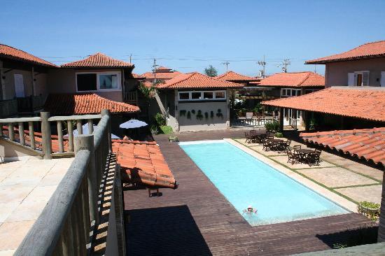 Villa Rasa: Main hotel pool area