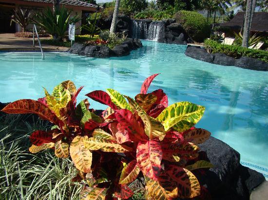 Kauai Coast Resort at the Beachboy: Swimming pool with waterfall