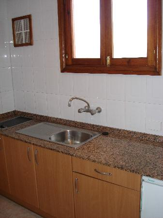 Apartamentos Strelitzias : Kitchen