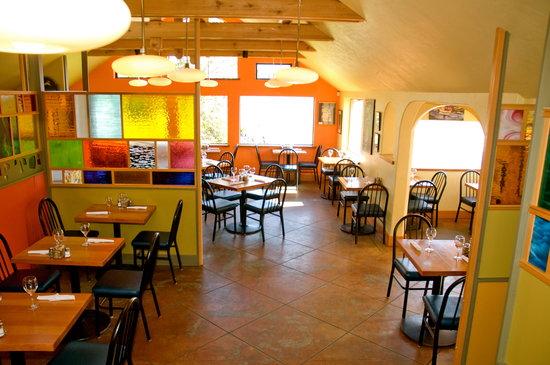 Rock Salt Restaurant & Cafe: ocean view dining room