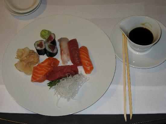 Grand Hyatt Berlin: Sushi and sashimi