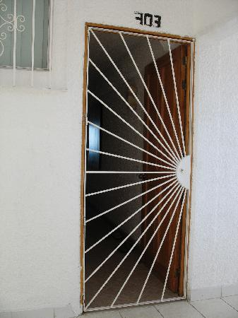 703 Front Door And Iron Gate Picture Of Boana Torre Malibu Puerto