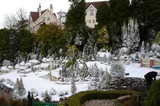 The Sandpiper Guest House: Winter Wonderland at the Model Village, Babbacombe