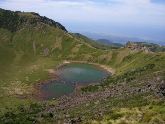 Hallasan National Park: Mt. Halla crater