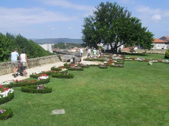 Chaves, Portugal - Jardim do Castelo de Chaves