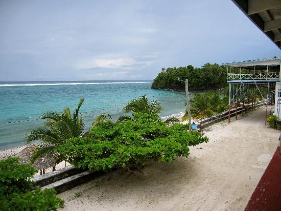 Savai'i, Samoa: Balcony view