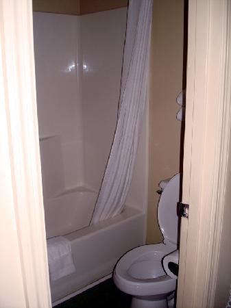 Super 8 Monticello: Bathroom