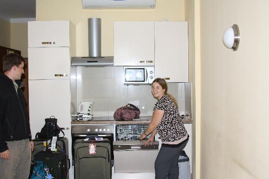 Hotel Verdi: picture of kitchen