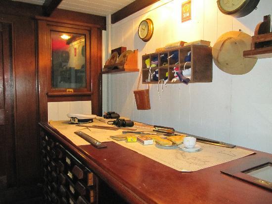 Galata Museo del Mare: Ricostruzione ambiente
