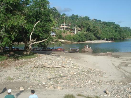 Tena, Ecuador: la playa de Misahuayi