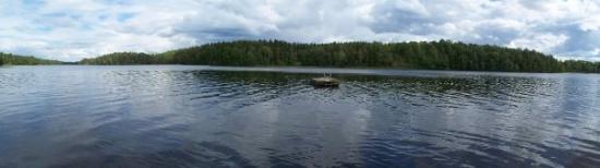 Eskilstuna, Sweden: Lake near Evelina's summer house