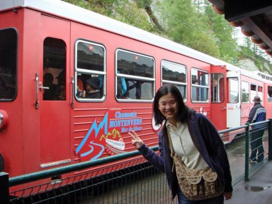 Flegere Cable Car: 冰河列車