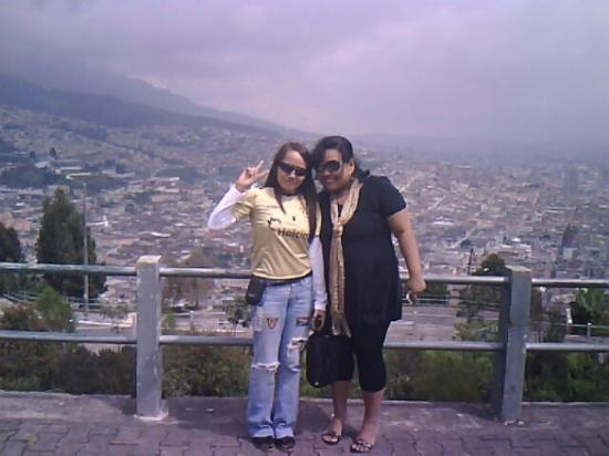Quito Old Town: Me and mi chika, Jen.