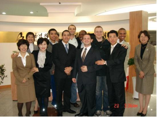 Busan, South Korea: Pusan church members