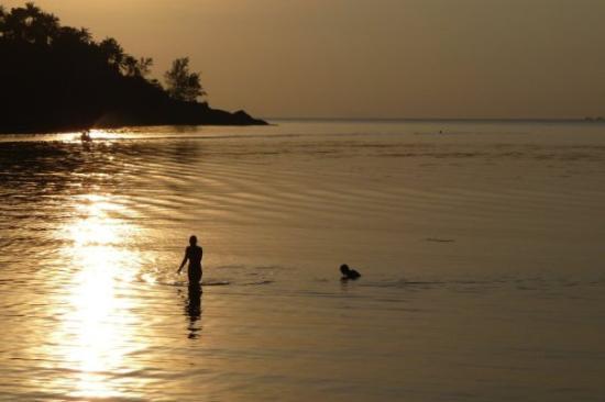หาดสลัด: abendstimmung
